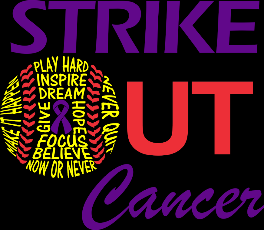 Strike Out Cancer t-shirt