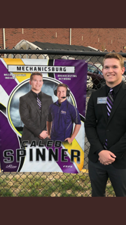 Senior Spotlight: Caleb Spinner