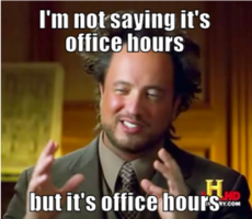 "Office ""Hours"""