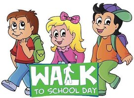 Walk to School Day Wed. October 2nd